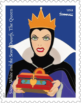 Snow White and the Seven Dwarfs, The Queen Stamp, Snow White and the Seven Dwarfs Stamp 2017